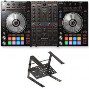 Pioneer DDJ-SX3 con Laptop Stand
