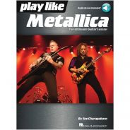 Hal Leonard Play Like Metallica Libro + Audio Online