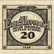 0 ERNIE BALL - 1420 - corda .020 - avvolgitura in bronzo 80/20