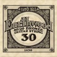 0 ERNIE BALL - 1430 - corda .030 - avvolgitura in bronzo 80/20