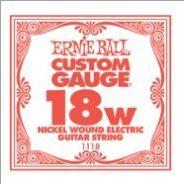 0 ERNIE BALL - 1118 - corda .018 - avvolgitura in acciaio nichelato