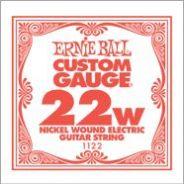 0 ERNIE BALL - 1122 - corda .022 - avvolgitura in acciaio nichelato