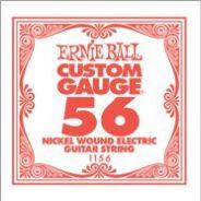 0 ERNIE BALL - 1156 - corda .056 - avvolgitura in acciaio nichelato