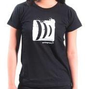 0 Schlagwerk - T-shirt Donna - L - nera
