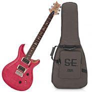 Chitarra Elettrica Rosa PRS SE Custom 24 Bonnie Pink 07