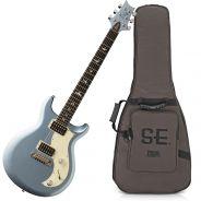 PRS Se Mira Frost Blue Metallic Chitarra Elettrica Blu Metallizzato03