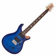 Chitarra Elettrica con Borsa PRS SE Custom 24 Faded Blue Burst