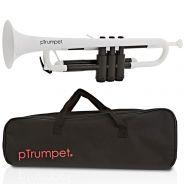 pTrumpet Tromba in Sib in Plastica Abs bianco