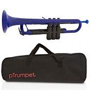 pTrumpet Tromba in Sib in Plastica Abs Blu