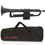 pTrumpet Tromba in Sib in Plastica Abs nero