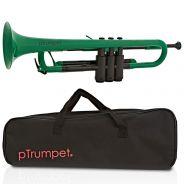 pTrumpet Tromba in Sib in Plastica Abs verde