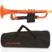 pTrumpet Tromba in Sib in Plastica Abs arancione