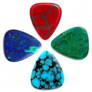 0 TIMBERTONES - Confezione da 4 plettri Stone Tones