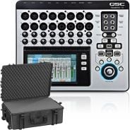 QSC Touch Mix 16 con Flight Case Trolley