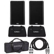 QSC K10.2 (Coppia) - Cassa Attiva 2000W / Borse / Cavi