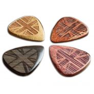Timbertones FLA-UJ-MP-4 - 4 Plettri Flag Tones Picks
