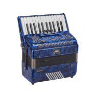 0 SOUNDSATION VOCE I 2648-BL - Fisarmonica 48 Bassi 26 Tasti Blu Madreperla