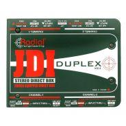 Radial JDI Duplex - DI Box Stereo Passiva