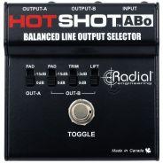 Radial HotShot ABo - Selettore Footswitch di Uscite Bilanciate