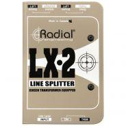 Radial LX2 - Splitter Line-Level ed Attenuatore Passivo
