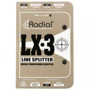Radial LX3 - Splitter Line-Level Passivo