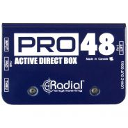 Radial Pro48 - DI Box Attiva con Phantom Power