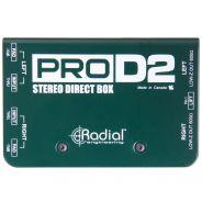 Radial ProD2 - DI Box Stereo Passiva 2 Canali per Tastiere