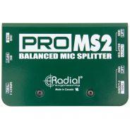 Radial ProMS2 - Splitter Microfonico Passivo a 2 Vie