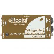 Radial Stagebug SB4 Piezo - DI Box Attiva per Pickup Piezo