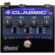 Radial Tonebone Classic V9 - Pedale Effetto Distorsione/Overdrive per Chitarra