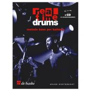 De Haske Publications Real Time Drums - Metodo Base per Batteria