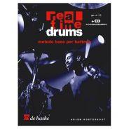 De Haske Publications Real Time Drums - Metodo Base per Batteria