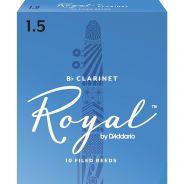 RICO RCB1015 - 10 Ance per Clarinetto in Sib Royal 1.5