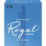Rico RCB1020 - 10 Ance per Clarinetto in Sib Royal 2.0