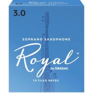 RICO RIB1030 - 10 Ance per Sax Soprano in Sib Royal Strength 3.0