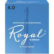 Rico RIB1040 - Ance per Sax Soprano in Sib Royal 4.0 10 pz