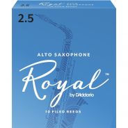 Rico RJB1025 Ance per Sax Alto in Mib Royal 2.5 10pz