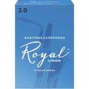 Rico RLB1020 - Ance per Sax Baritono in Mib Royal 2.0 10 pz