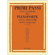 Ricordi F. Concina Primi Passi Sulla Tastiera Del Pianoforte Capolavori 600-700