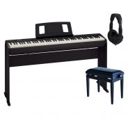 Roland FP 10 BK Home Set - Piano Digitale / Stand / Panchetta / Cuffie
