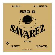 1 Savarez 520R Set 6 Corde Muta per Chitarra Classica Tensione Mista