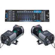 SOUNDSATION Set 2 Scanner SC-30W-1 / DMX512