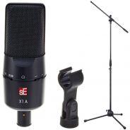 Se Electronics X1A Bundle Microfono a Condensatore con Asta Microfonica