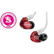 SHURE SE535 LTD RED Isolamento sonoro / Triple-Balanced