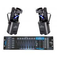 SOUNDSATION Set 2 Scanner SC-80W-1 White / DMX512