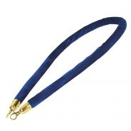 Showtec - Velvet Rope Gold Hook - Blu