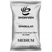 Showven HC8200 Medium - 12 Sacchetti di Polvere Non Pirotecnica per Fontane Luminose