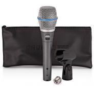 Shure Beta 87C - Microfono a Condensatore Cardioide Professionale per Voce