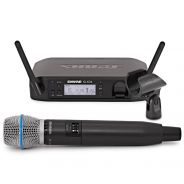 Shure GLXD24E/Beta87A - Radiomicrofono Palmare Digitale Wireless per Voce