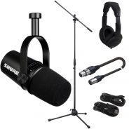Shure Motiv MV7 Black Bundle